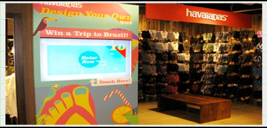 Haviana's: Touch Application – Retail