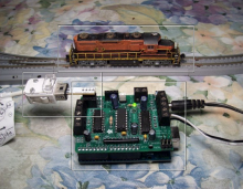 Control model trains with a Nintendo Wii Nunchuk and Arduino
